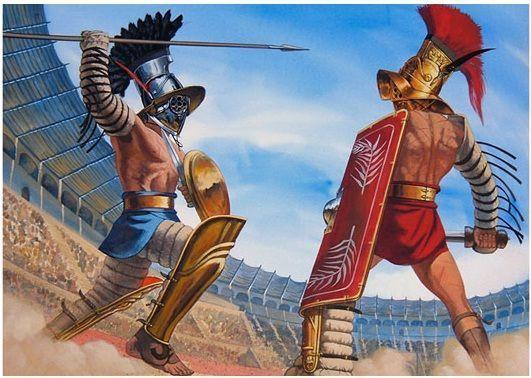 Los Gladiadores Romanos eran principalmente vegetarianos
